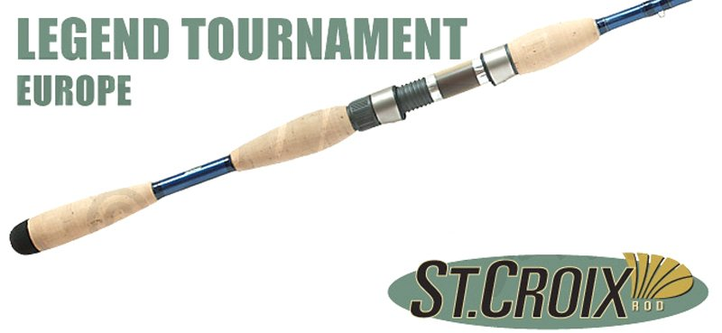 Спиннинг St.Croix Legend Tournament  Walleye (213 см., 3.5-10.5гр., 4-10 Lb) LTWS70MLF2