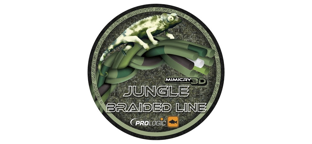 Шнур Prologic Mimicry Jungle Braided Line 0.32mm 1200m 30lbs