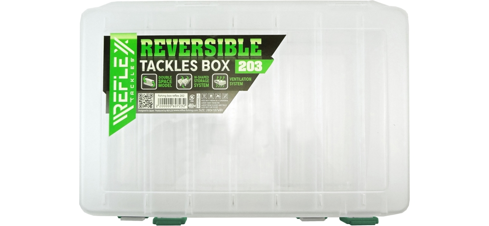 Коробка Reflex Reversible tackeles box 203