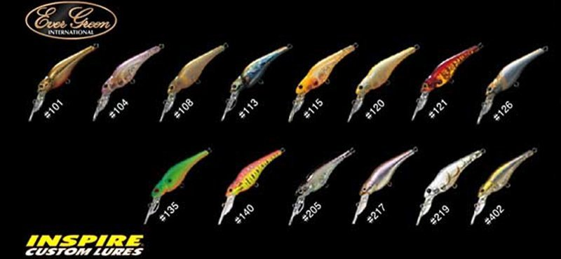 Воблер Ever Green Spin-Move Shad #108